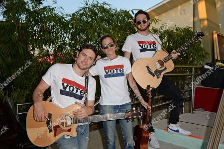 Pete Nappi, Ethan Thompson, Samantha Ronson