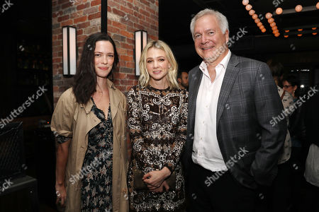 Rebecca Hall, Carey Mulligan and Jonathan Sering (CoPresident; IFC Films)