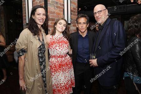 Rebecca Hall, Ella Olivia Stiller, Ben Stiller and Oren Moverman