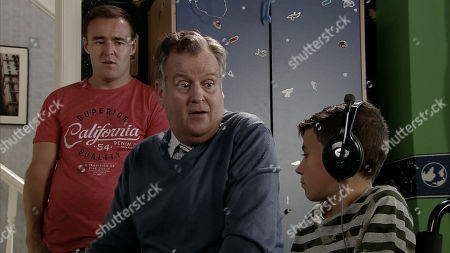 Ep 9577 Wednesday 3rd October 2018 - 2nd Ep In a bid to ease Jack Webster's, as played by KYRAN BOWES, return to school, Brian Packham, as played by PETER GUNN, promises he can play computer games with his mates at break time