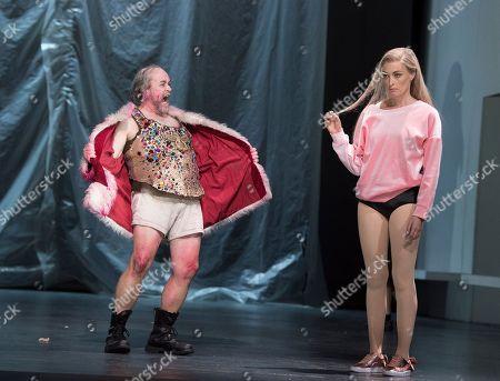 Michael Colvin as Herod, Allison Cook as Salome,