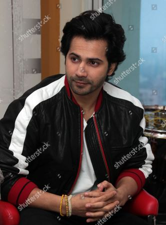Bollywood actor Varun Dhawan during an interview for the promotion of his upcoming movie Sui Dhaaga at HT Media office