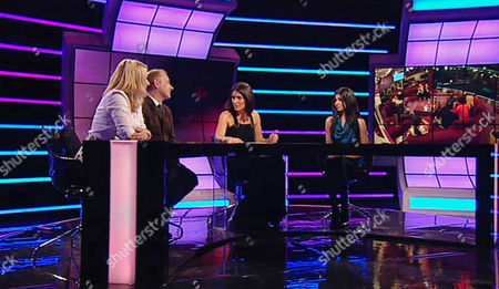 Emma Kennedy, Bob Mortimer, Davina McCall and Hira.