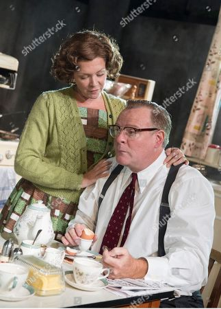 Finty Williams as Barbara, Chris Larkin as Bob