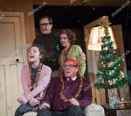 Macy Nyman as Julie, Alasdair Harvey as Peter, Finty Williams as Barbara, Chris Larkin as Bob