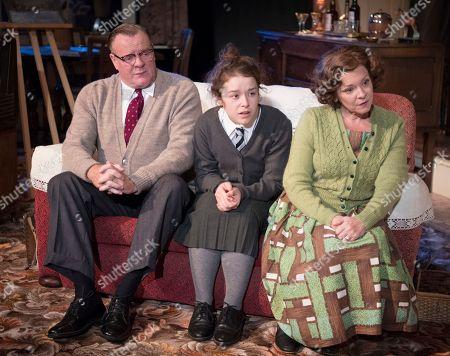 Chris Larkin as Bob, Macy Nyman as Julie, Finty Williams as Barbara,