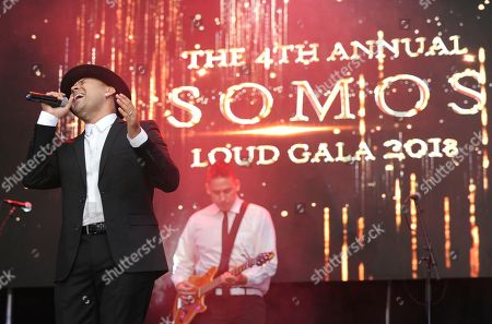 Frankie J performs at the 4th Annual Somos LOUD Gala on in Long Beach, Calif