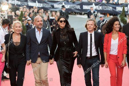 Stock Picture of Monica Bellucci, Emmanuelle Bercot, Thierry Lacaze, Alex Lutz, Sabrina Ouazani