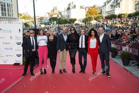 Monica Bellucci, Rupert Grint, Kate Dickie, Emmanuelle Bercot, Thierry Lacaze, Alex Lutz, Sabrina Ouazani, Ian Hart