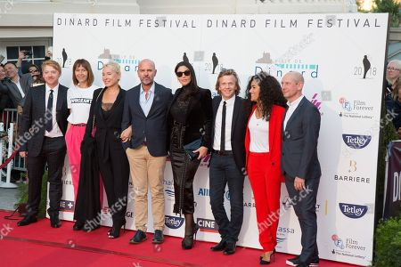 Stock Image of Monica Bellucci, Rupert Grint, Kate Dickie, Emmanuelle Bercot, Thierry Lacaze, Alex Lutz, Sabrina Ouazani, Ian Hart