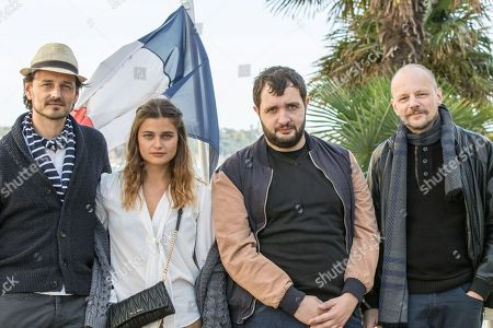 Stock Photo of Bernaby Southcombe,Cedric Delelee, Louise Grinberg, Karim, Leclou