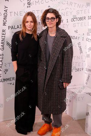 Stella McCartney and William Peltz