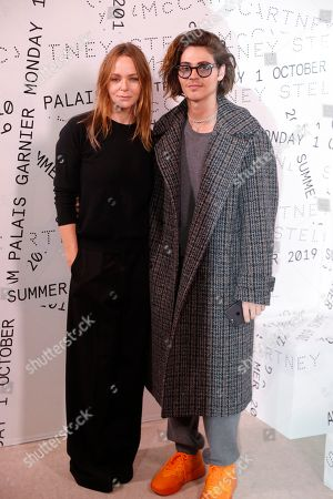 Stella McCartney and William Peltz