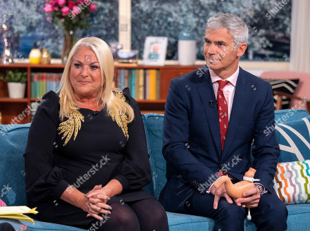 Vanessa Feltz and Shaw Somers