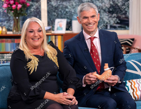 Stock Image of Vanessa Feltz and Shaw Somers