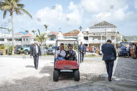 Editorial image of President Emmanuel Macron visit to French Antilles - 30 Sep 2018