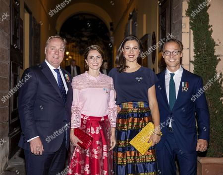 Prince Carlos of Bourbon-Parma and Princess Annemarie and Prince Jaime and Princess Viktoria