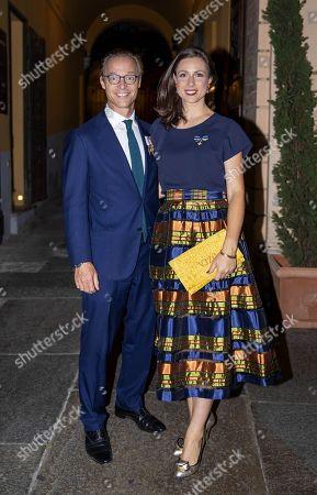 Princess Annemarie and Prince Jaime and Princess Viktoria