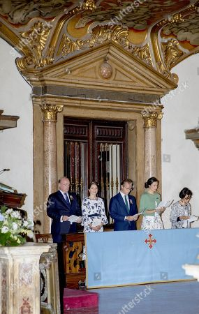 Prince Carlos of Bourbon-Parma and Princess Annemarie and Prince Jaime and Princess Viktoria Aunt princess Maria Teresa