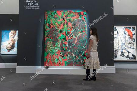 Editorial image of Frieze week, Sothebys, London, UK - 01 Oct 2018