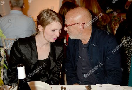 Chelsea Manning and Brian Eno