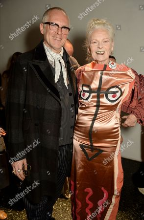 Stock Photo of Joe Corre and Dame Vivienne Westwood