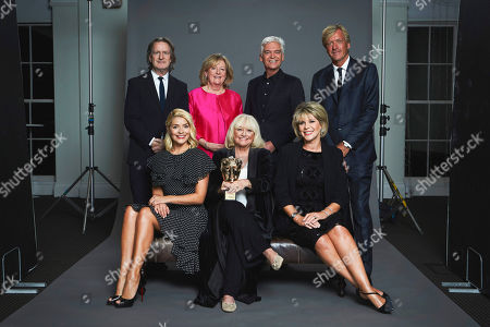 Martin Frizell, Dianne Nelmes, Phillip Schofield, Richard Madeley, Holly Willoughby, Judy Finnigan and Ruth Langsford