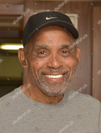 Frankie Beverly of Maze featuring Frankie Beverly backstage after performing