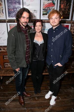 Joseph Timms, Finty Williams (Barbara Jackson) and Sam Williams