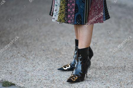 Victoria Magrath, shoe detail