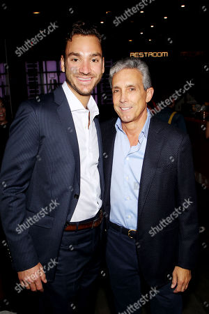 Charles Cohen with Son
