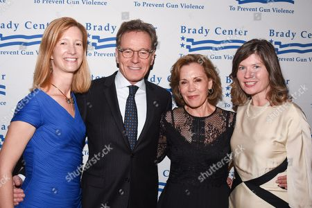 Avery Gardiner, Bryan Cranston, Robin Dearden and Kris Brown
