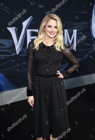 Katie Gill at Columbia Pictures' VENOM World Premiere at the Regency Village Theater