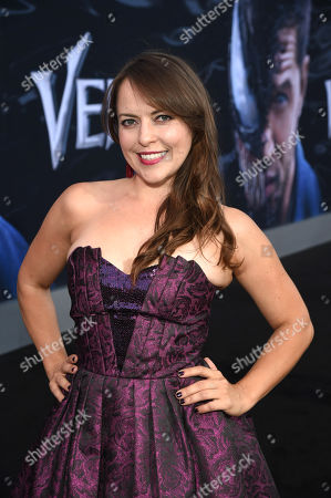 Stock Photo of Olga Kay at Columbia Pictures' VENOM World Premiere at the Regency Village Theater