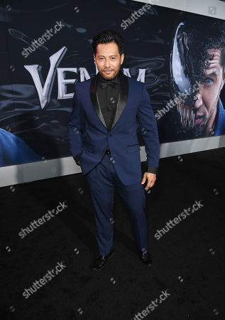 Editorial picture of 'Venom' film premiere, Arrivals, Los Angeles, USA - 01 Oct 2018