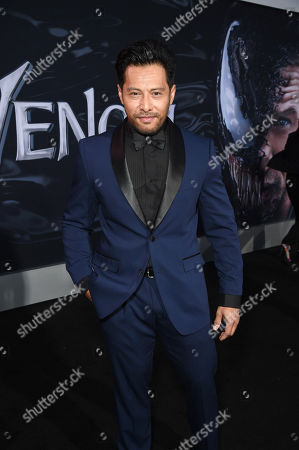 Stock Picture of Sam Medina at Columbia Pictures' VENOM World Premiere at the Regency Village Theater