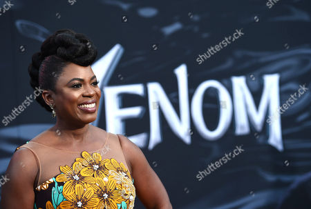 Editorial photo of 'Venom' film premiere, Arrivals, Los Angeles, USA - 01 Oct 2018