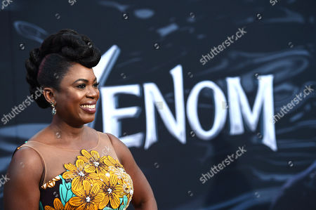 Stock Photo of Sope Aluko at Columbia Pictures' VENOM World Premiere at the Regency Village Theater