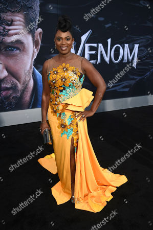 Editorial image of 'Venom' film premiere, Arrivals, Los Angeles, USA - 01 Oct 2018