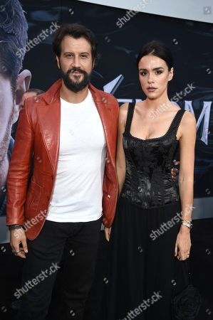 Stefan Kapicic and Ivana Horvat at Columbia Pictures' VENOM World Premiere at the Regency Village Theater