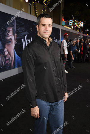 Stock Image of Troy Garity at Columbia Pictures' VENOM World Premiere at the Regency Village Theater