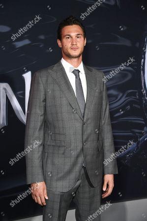 Danilo Gallinari at Columbia Pictures' VENOM World Premiere at the Regency Village Theater