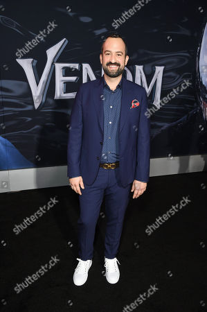 Steve Zissis at Columbia Pictures' VENOM World Premiere at the Regency Village Theater