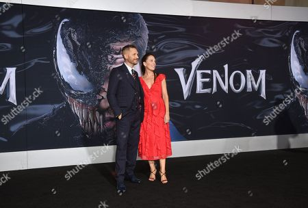 Editorial picture of 'Venom' film premiere, Arrivals, Los Angeles, USA - 01 Oct 2018