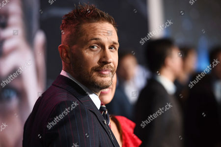 Tom Hardy at Columbia Pictures' VENOM World Premiere at the Regency Village Theater