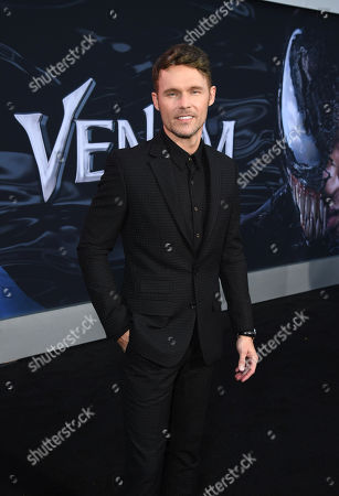 Scott Haze at Columbia Pictures' VENOM World Premiere at the Regency Village Theater