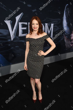 Elizabeth J. Carlisle at Columbia Pictures' VENOM World Premiere at the Regency Village Theater