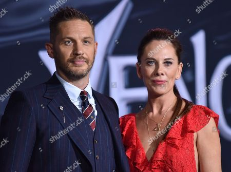 Tom Hardy and Kelly Marcel