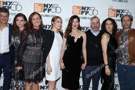 Anthony Bregman, Emily Robinson, Molly Shannon, Kayli Carter, Kathryn Hahn, Paul Giamatti, Tamara Jenkins and Desmin Borges
