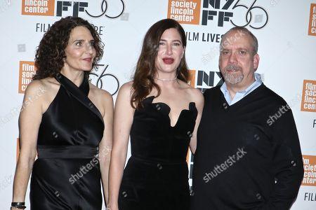 Tamara Jenkins, Kathryn Hahn and Paul Giamatti